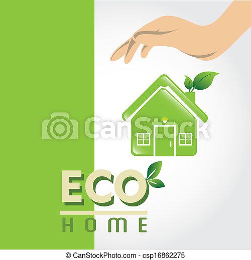 eco, 家 - csp16862275