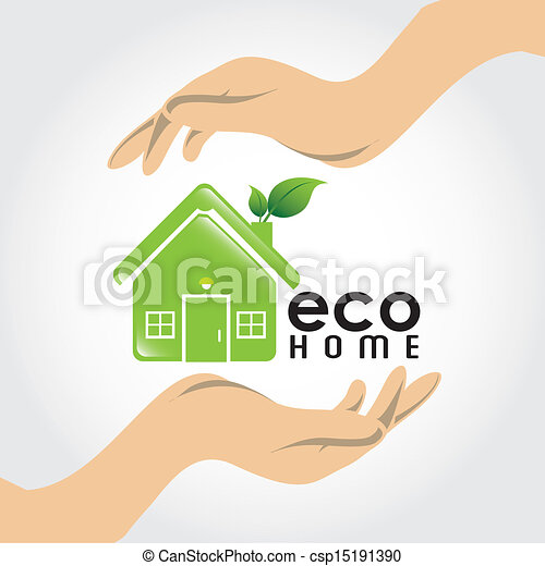 eco, 家 - csp15191390