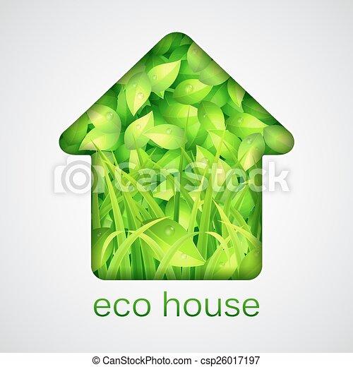 eco, 家 - csp26017197