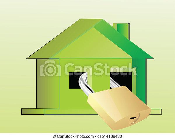 eco, 家 - csp14189430