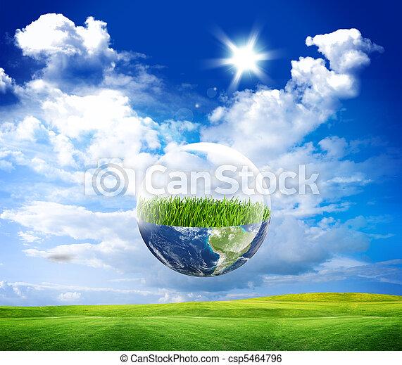 eco, aarde - csp5464796
