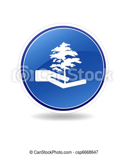 Un icono ecológico - csp6668647