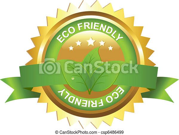 Un signo ecológico - csp6486499