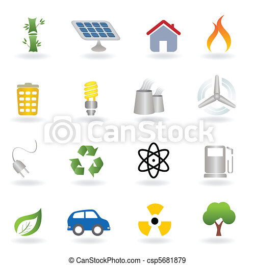 Eco and environment icons - csp5681879
