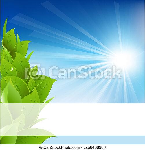 Eco Background - csp6468980