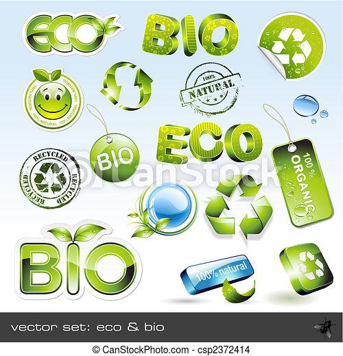 eco, bio, & - csp2372414