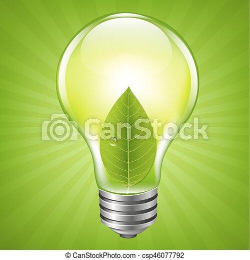 Bomba ecológica - csp46077792