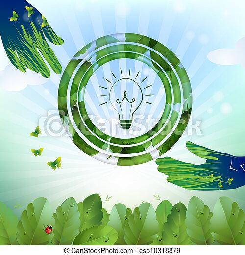 Diseño de bombillas - csp10318879