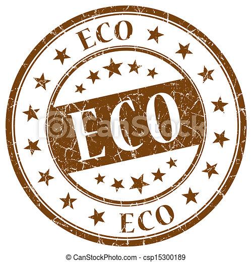 Eco Brown Stamp - csp15300189