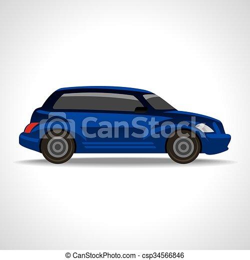 Eco car - csp34566846