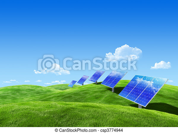 Eco collection - Solar energy - csp3774944