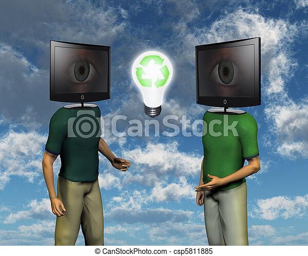 Eco conversation - csp5811885