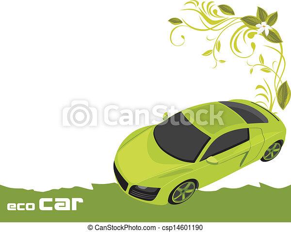 Auto económico. Banner para diseño - csp14601190