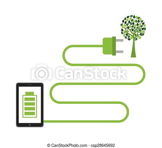 Energía económica - csp28645692