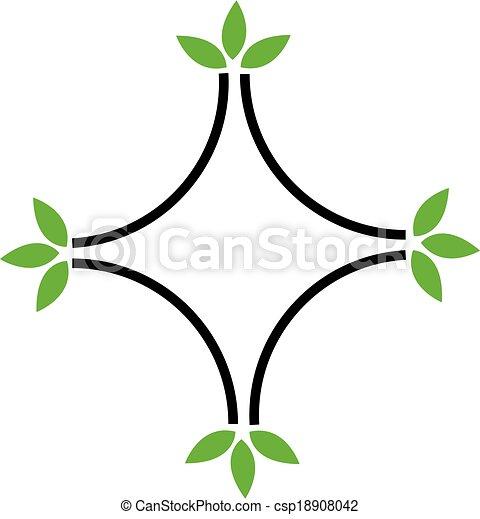 Eco friendly business logo - csp18908042