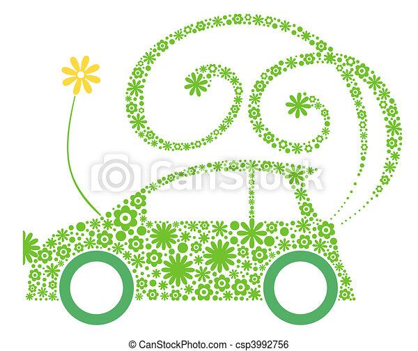 Eco friendly car - csp3992756