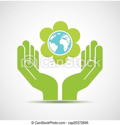 eco friendly  - csp25372695