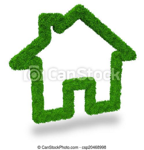 eco friendly housing - csp20468998