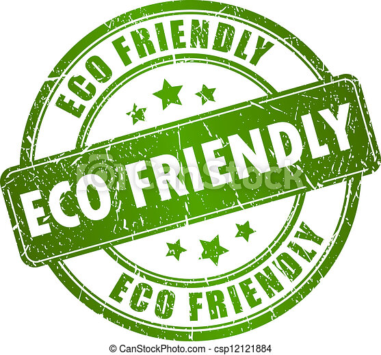 Eco friendly vector stamp - csp12121884