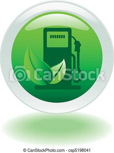 eco gas pump button - csp5198041