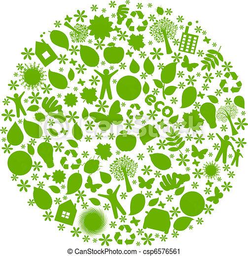 Eco Globe - csp6576561