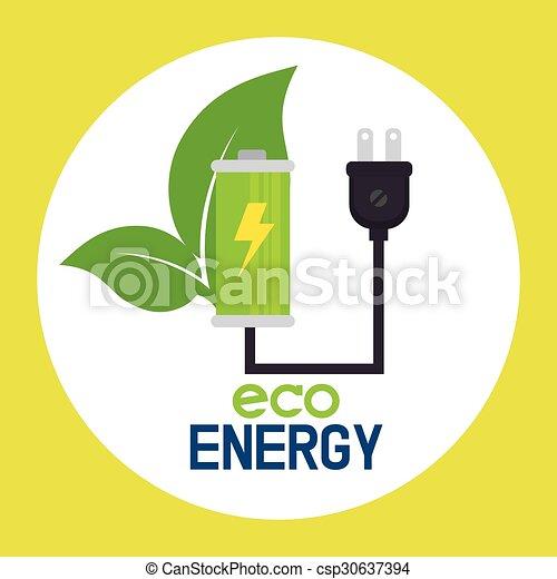 Eco green energy - csp30637394