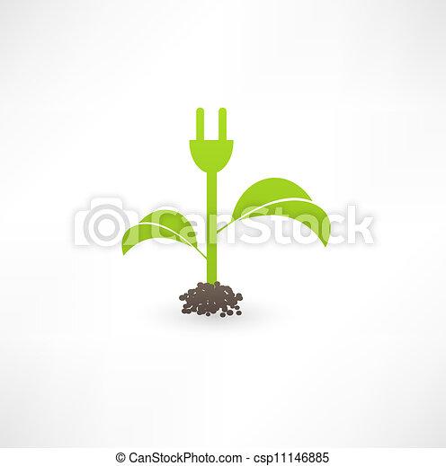 Eco green energy - csp11146885