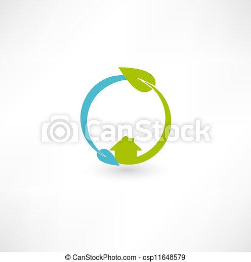 Eco green energy - csp11648579