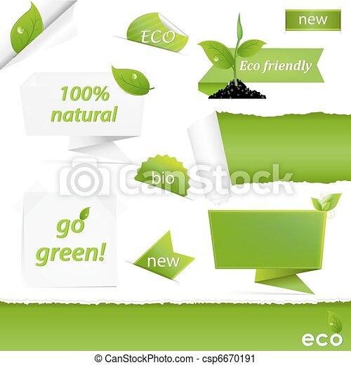 Eco Green Set - csp6670191