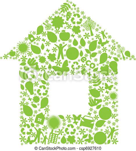 Eco House - csp6927610