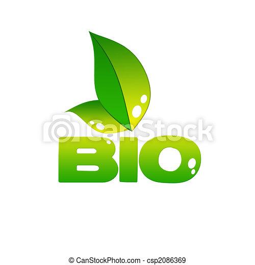 eco, icône - csp2086369