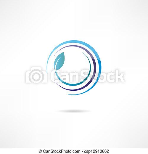 Eco icon - csp12910662