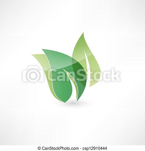 Eco icon - csp12910444