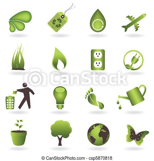Eco Icon Set - csp5870818