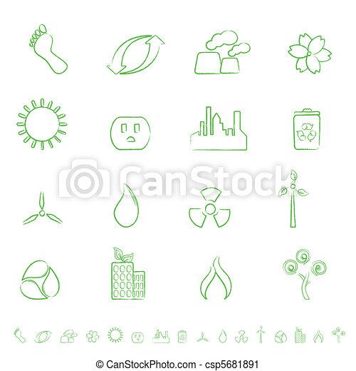Eco Icon Set - csp5681891