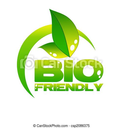 eco icon - csp2086375