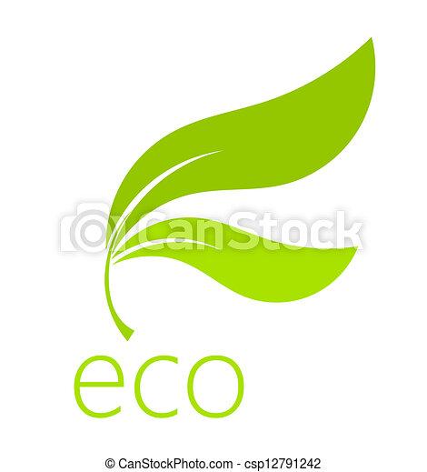 Eco leaf - csp12791242
