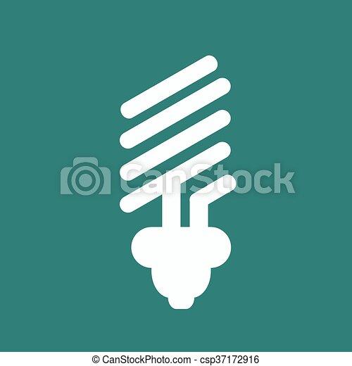 eco light bulb icons - csp37172916