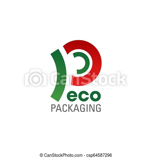 Eco Packaging Symbol Of Ecology Friendly Company Eco Packaging