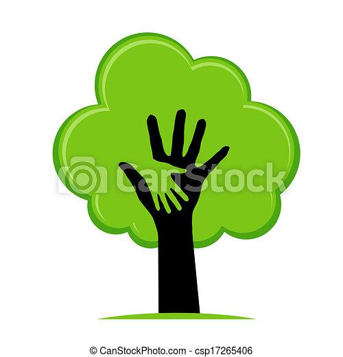 Eco sign - csp17265406