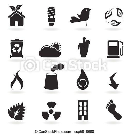 eco, simboli, icone - csp5818680
