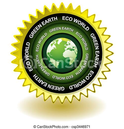 Un icono ecologista - csp3446971
