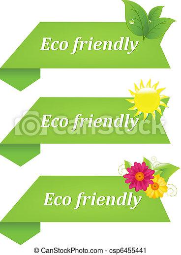 eco, vriendelijk - csp6455441