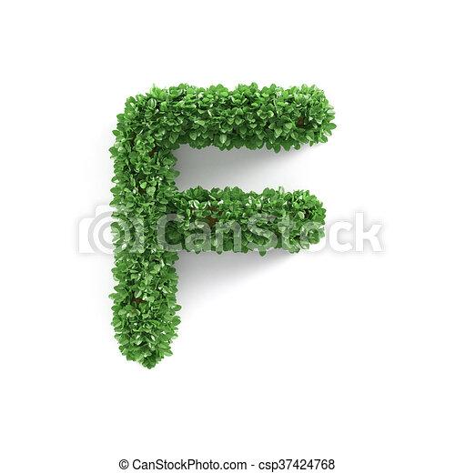 Ecología, f, alfabeto, hojas, verde, carta, fuente. Ecología, f ...