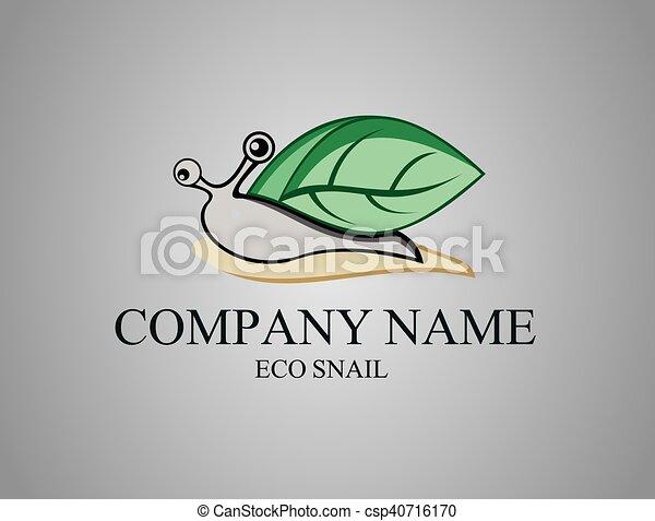 Caracoles ecológicos verdes - csp40716170