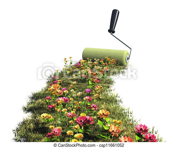 Ecological concept - csp11661052