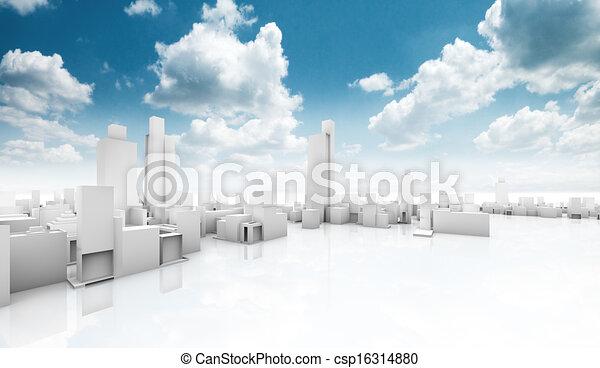 Ecological construction - csp16314880