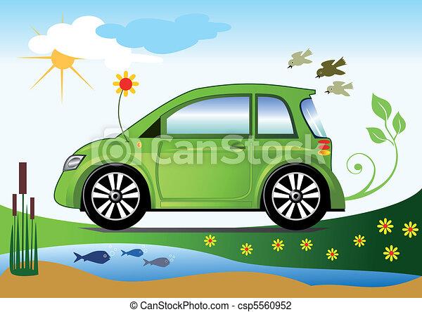 Ecological friendly car concept - csp5560952