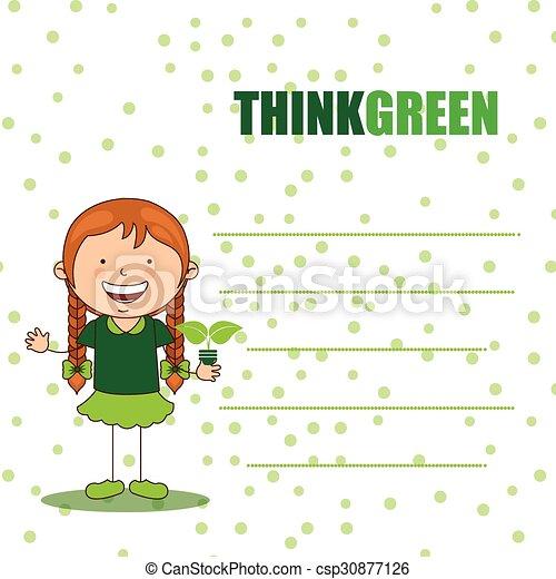 ecological kids - csp30877126