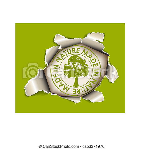 Ecological, organic item - csp3371976
